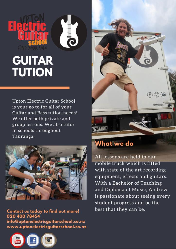 guitar lessons in Tauranga